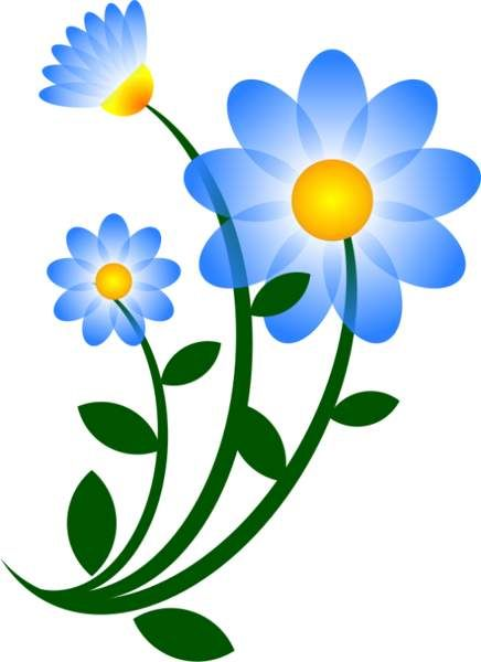 blue daisy clip art clipart clipart pinterest clip art art rh pinterest co uk daisy duck clipart free gerbera daisy clip art free