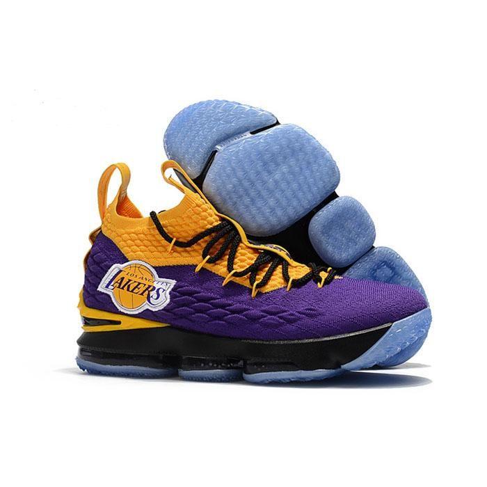 more photos 80c37 0f532 Nike Lebron 15 Lakers