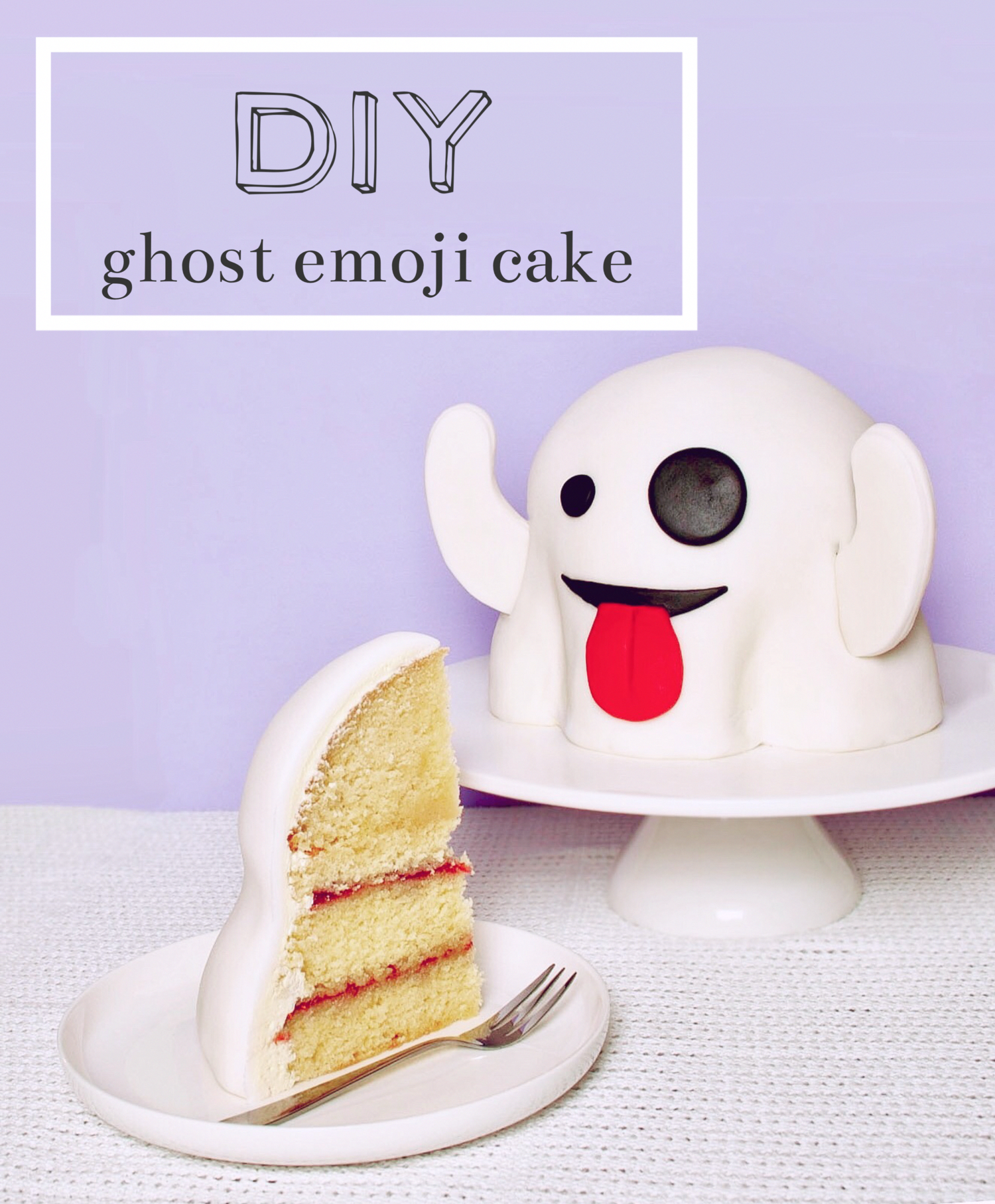 Celebrate Halloween With This Fun Ghost Emoji Cake So Cute Halloween Hallowe Cake Celebrate Cute Emoji Fun Ghost Hal Emoji Cake Cake Savoury Cake