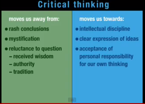 Non Critical Thinking Examples Evaluation - image 8