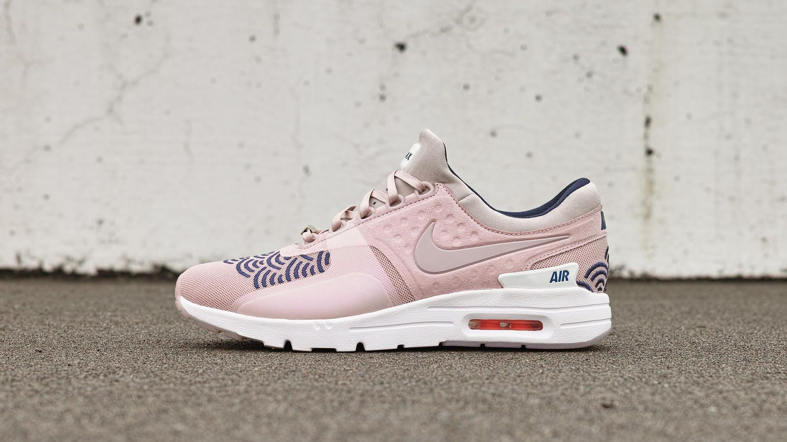 "Inspired by Japanese wave patterns, the ""City Collection"" Nike Air Max Zero  Ultra"