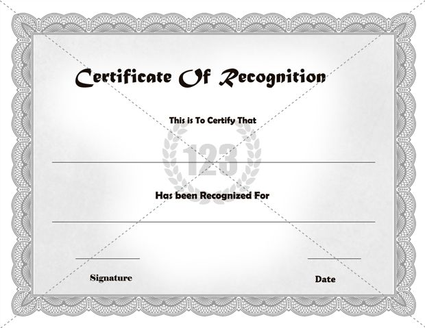 Certificate Of Appreciation Templates Free Download Best Recognition Certificate Templates Free Download From Here .