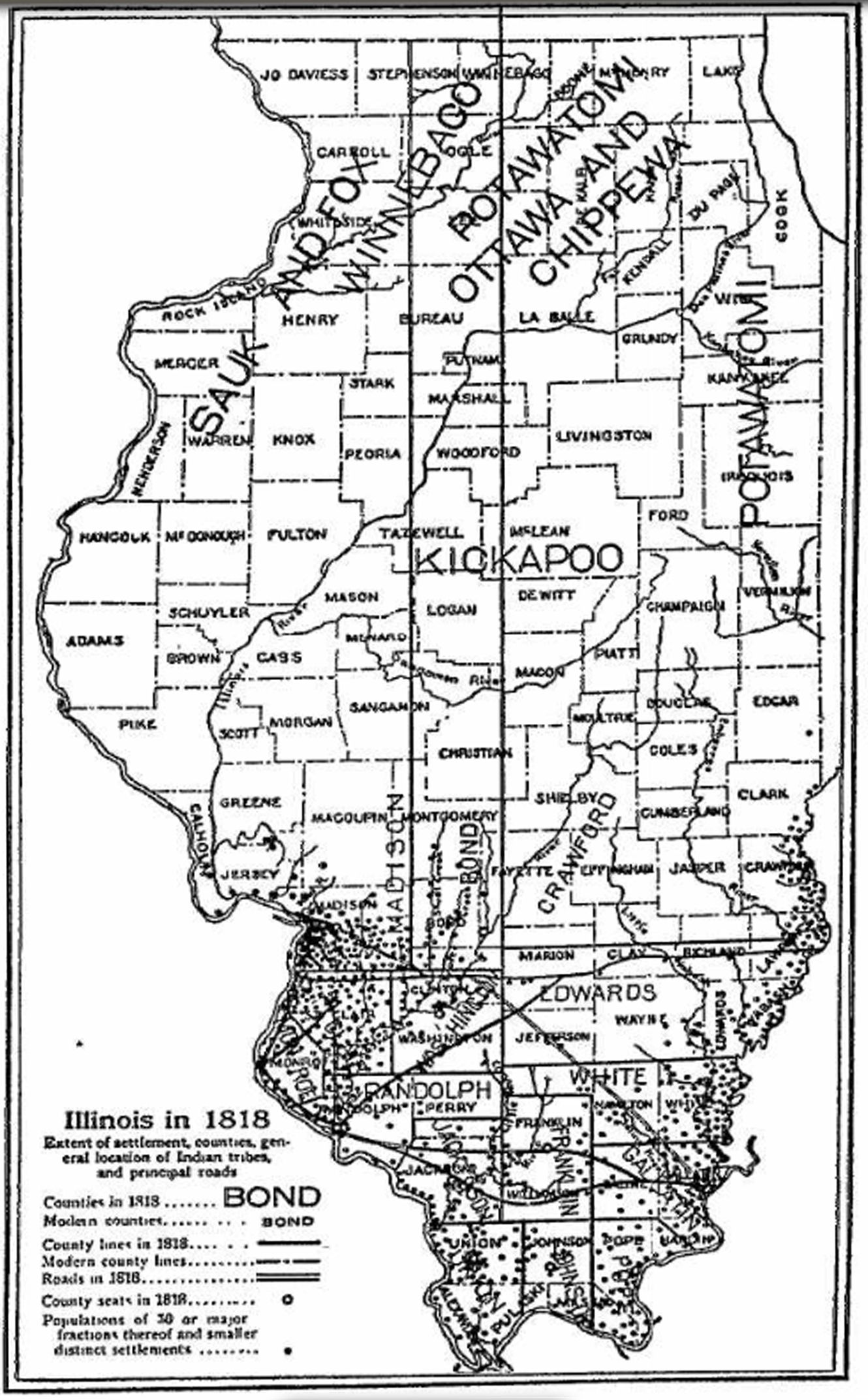 Illinois County Map Map It Pinterest - Illinois county map