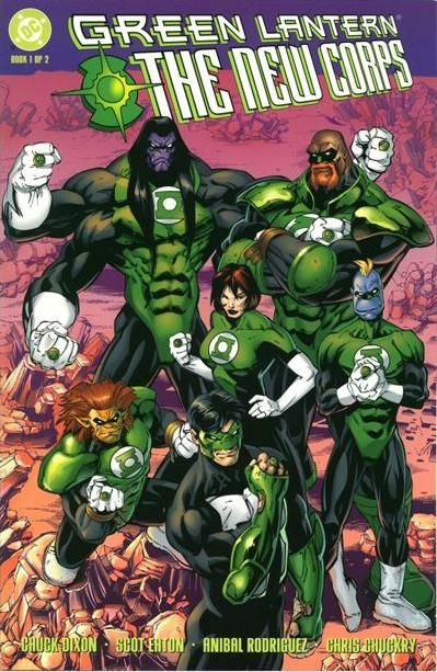 Green Lantern The New Corps Linterna Verde Batman Cómic Cómics