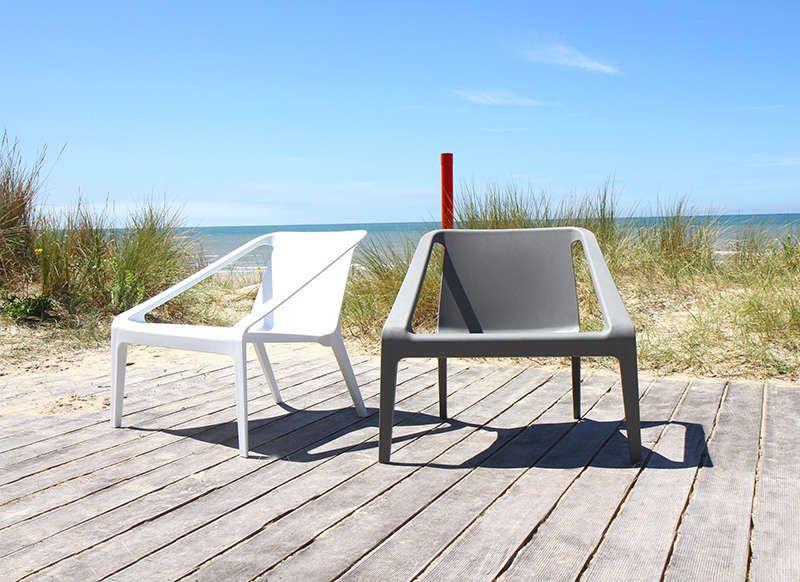 Chaise de jardin design   Chaises ext   Pinterest   Gris foncé ...
