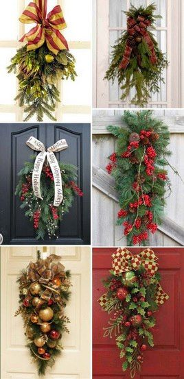lindas guirlandas CHRISTMAS 2017 Pinterest Wreaths, Christmas