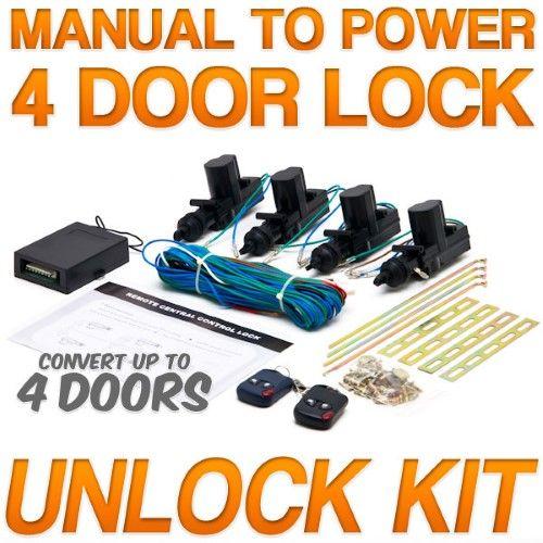 Biltek Power Car Door Lock Unlock Kit Keyless Remote For Ford Super Duty F 100 Ranger F 150 Heritage F 250 Car Door Lock Keyless Entry Car Keyless Door Lock