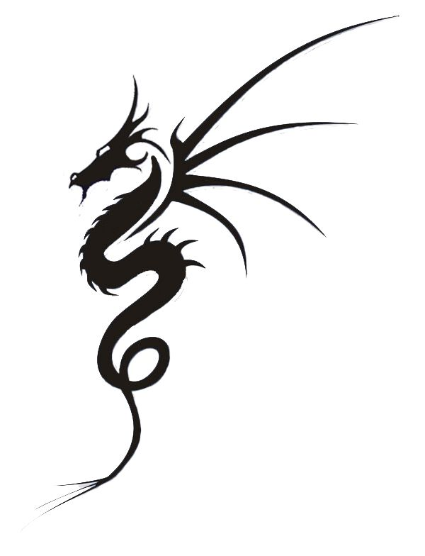 Dragon Tattoo Design By 0paperwings0 On Deviantart Dragon Tattoo Simple Dragon Tattoo Designs Celtic Dragon Tattoos