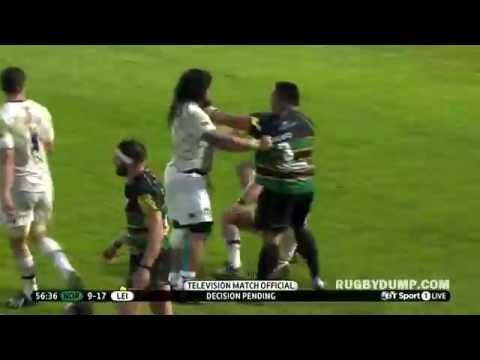 Salesi Ma Afu Brutal Punch Combo On Tom Youngs Tom Youngs Toms Nz All Blacks