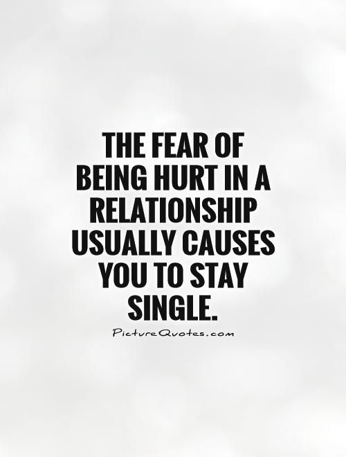 the fear of relationships