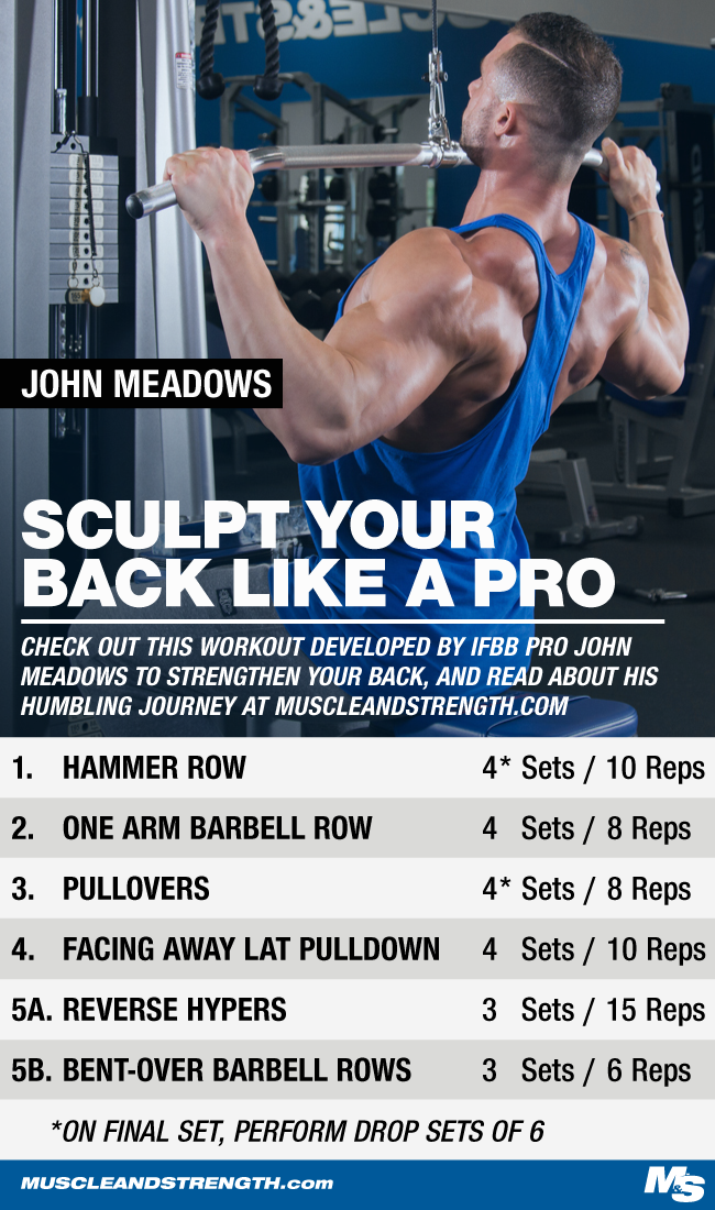 John Meadows His Journey To The Arnold Brand Back Workout Back Workout Workout Body Building Tips