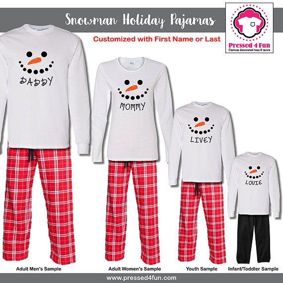 5809c0f8b2d3 Family Matching Christmas Pajamas