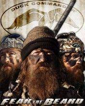 Duck Commander Poster 13 Fear The Beard 5 99 Duck Commander Mens Cowboy Boots Duck Dynasty