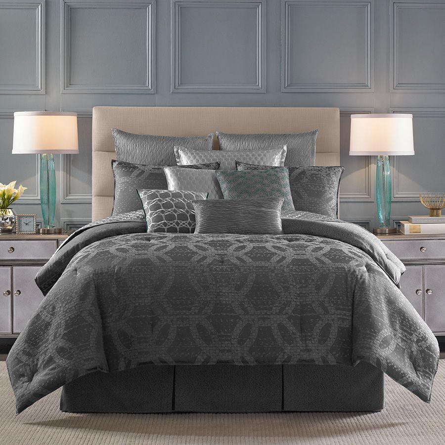 Candice Olson Blue Living Rooms: Candice Olson Meridian Comforter Set