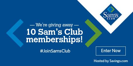Sam S Club Membership Giveaway Work Money Fun Sams Club Sweepstakes Giveaway