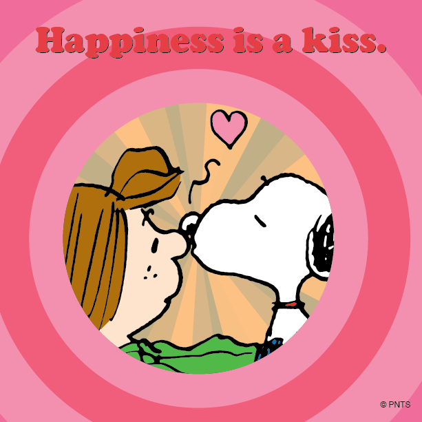 Happiness is a Kiss!