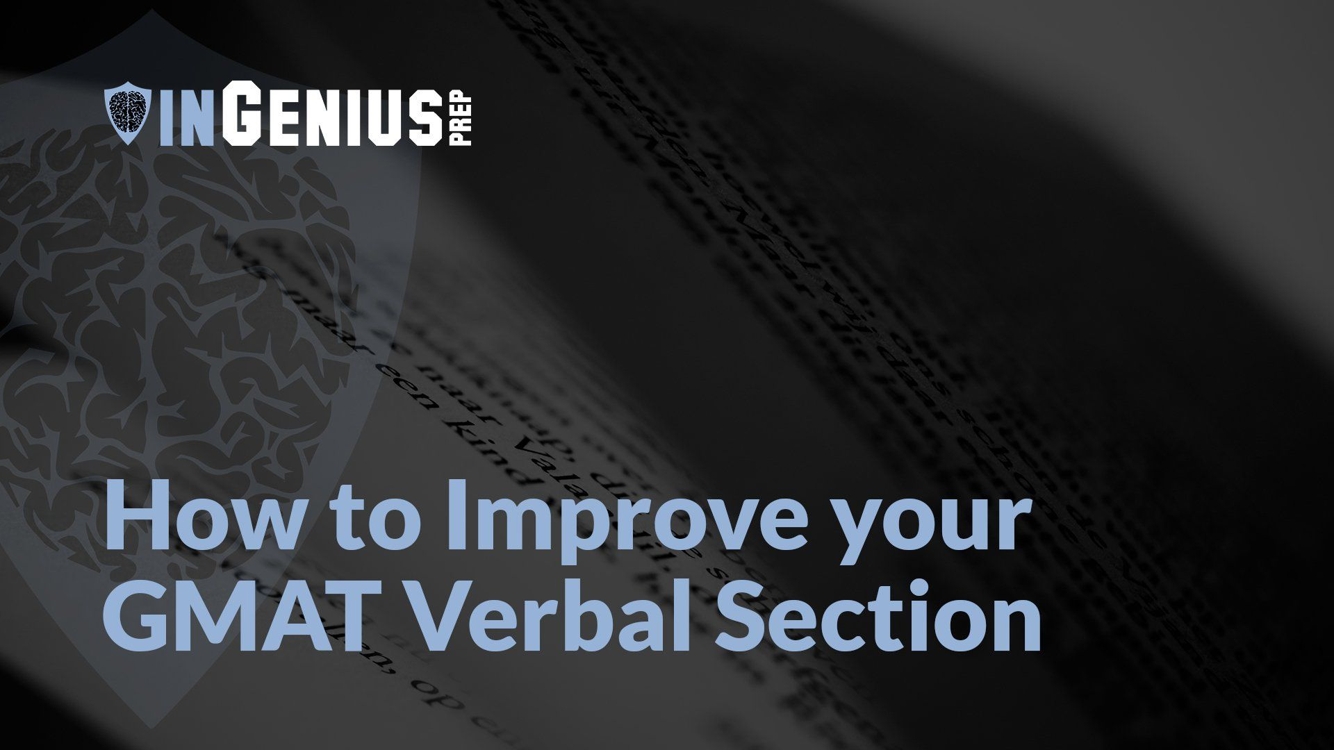 Improving your gmat verbal score there are two different