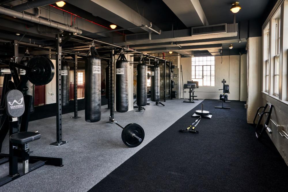 Soho Warehouse Members Club Hotel In La Gym Room At Home Gym Interior Gym Design Interior