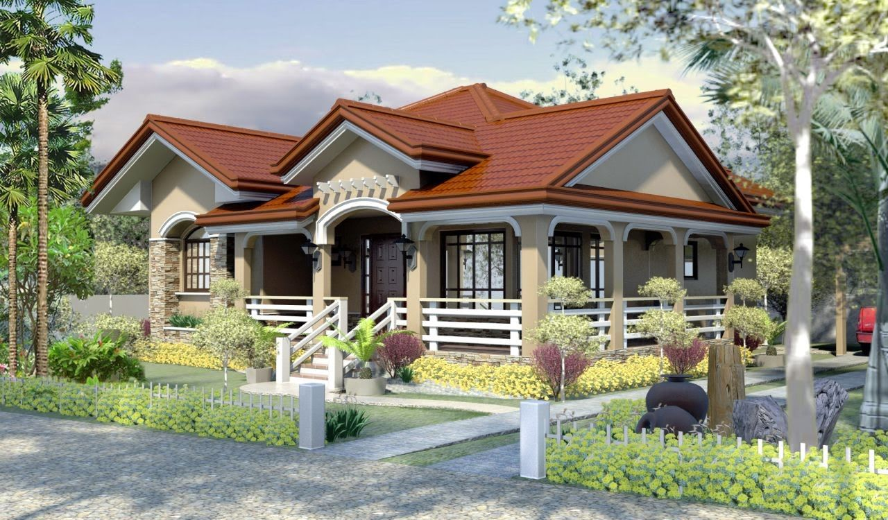 Bungalow House Plans In Philippines Setting Arts Simple Bungalow Houses Philippines House Design Village House Design Modern Bungalow House