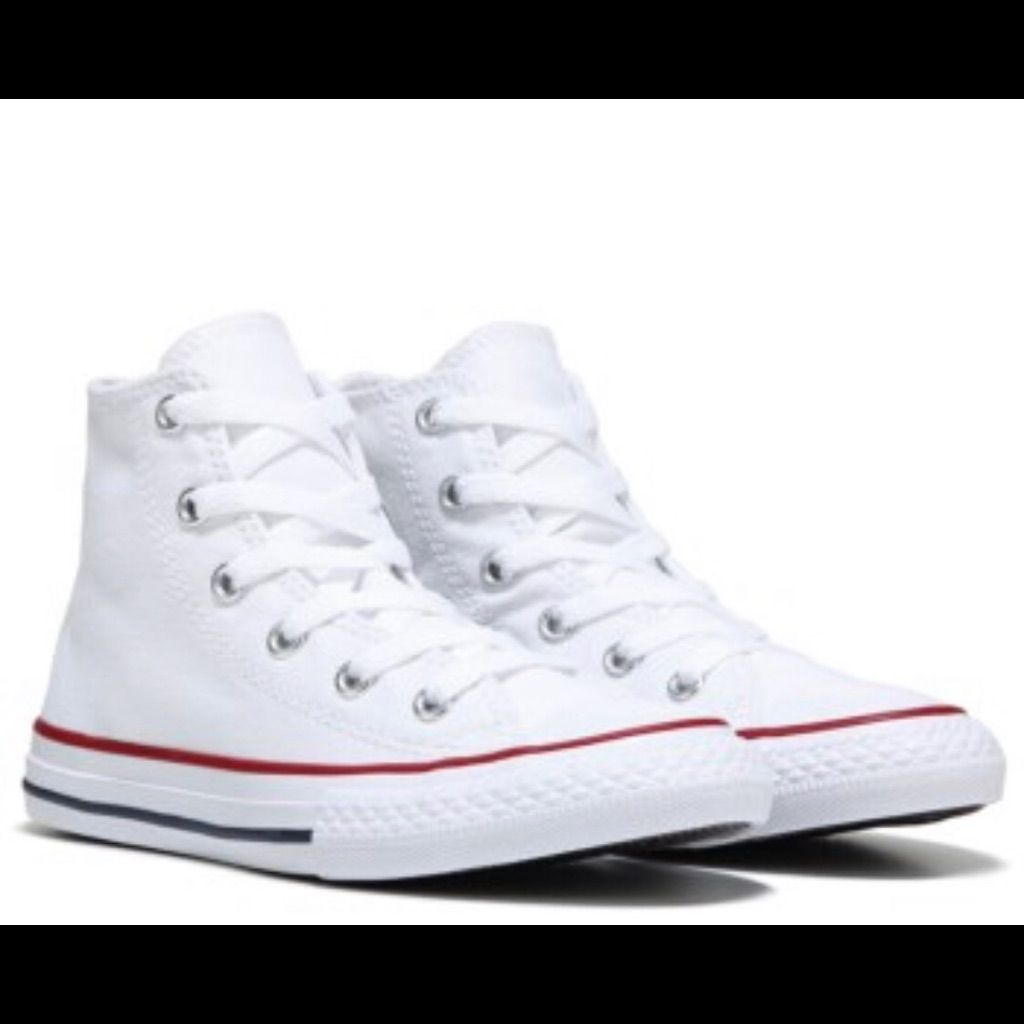 converse high tops white size 6 - 62