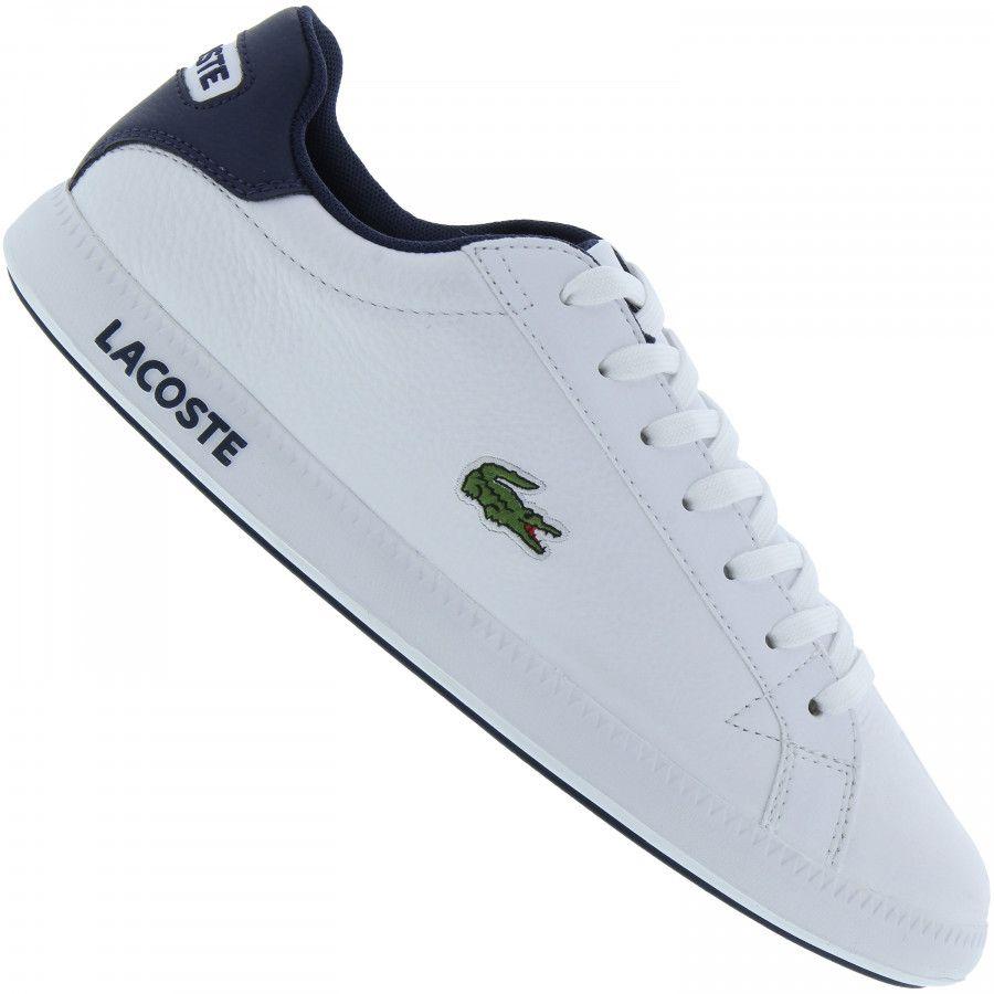 Confira preço do Tenis Lacoste Graduate Lcr3 Brz! Aproveite comprar em até  12x sem juros 1f110f9a46