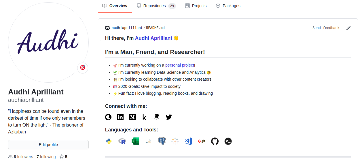 Create An Impressive Github Profile Readme And Add Your Medium Rss Feed To It Using Github Action Github Rss Feed Data Science