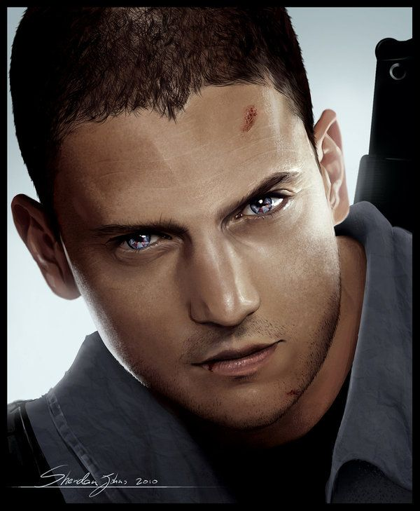 Chris Redfield (Wentworth Miller) In 2020