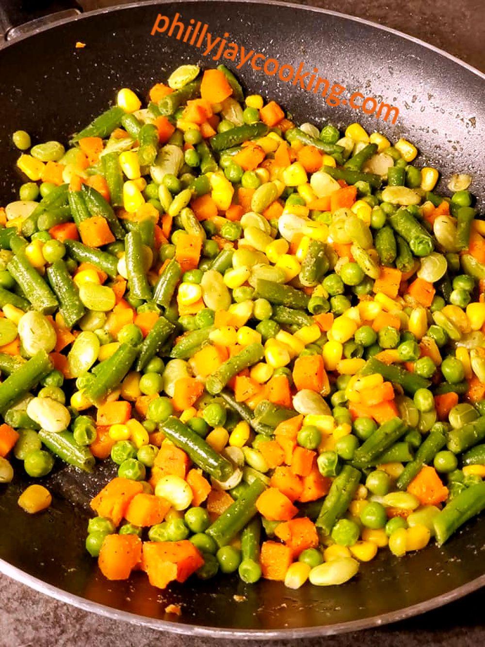 Frozen Mixed Vegetables Recipe