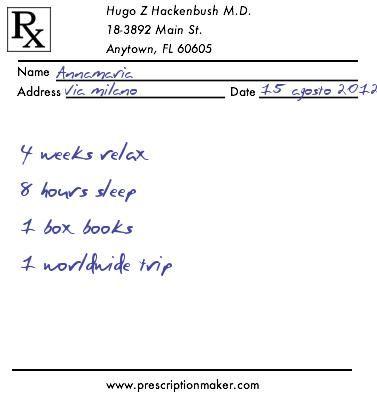 Custom Prescription Maker