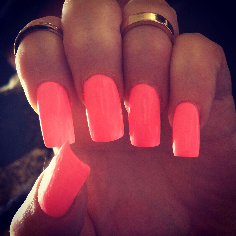 Shocking Pink by China Glaze.  My favorite pink :)