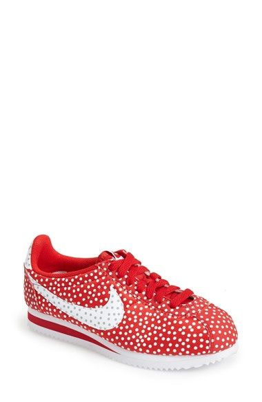 official photos 8d638 3e913 Nike  Cortez - Polka Dot Print  Sneaker (Women) available at  Nordstrom
