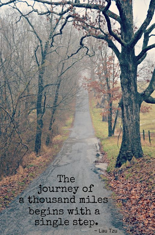 The Journey of a Thousand Miles quote (motivational quotes