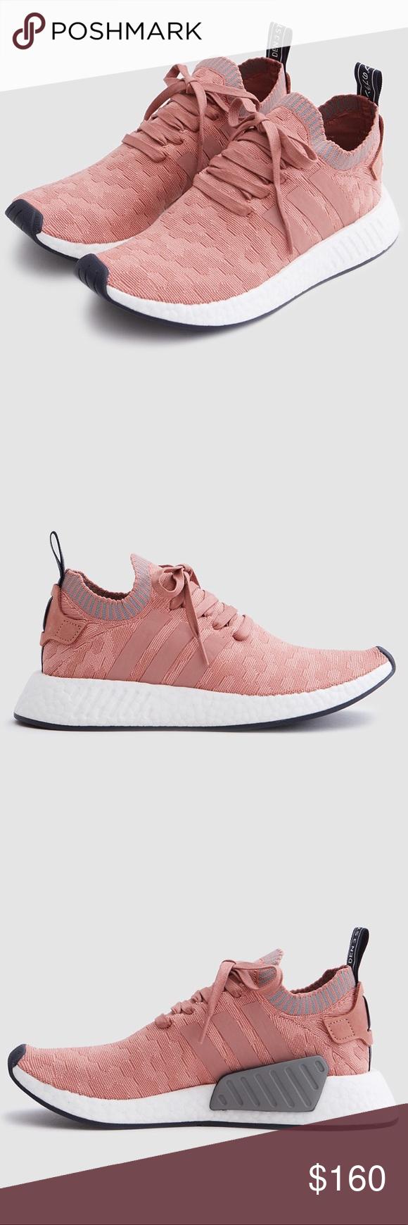 Adidas donne rosa nmd r2 primeknit crudo rosa donne / gray nwt pinterest 0d12de