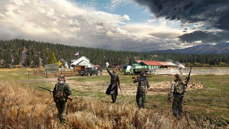 Far Cry 5 4k Game 3840x2160 Far Cry 5 Ubisoft Crying