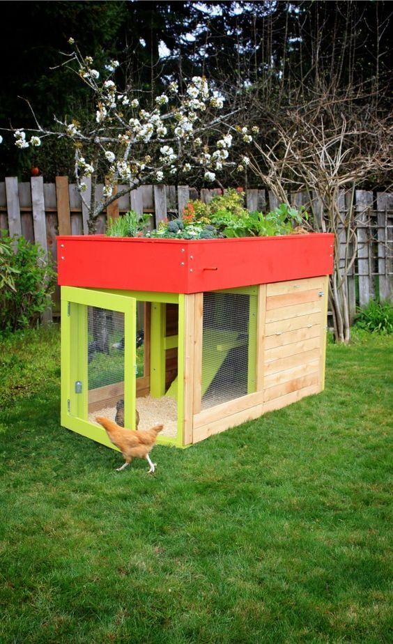 10 Awesome DIY Chicken Coop Designs   Mental Scoop