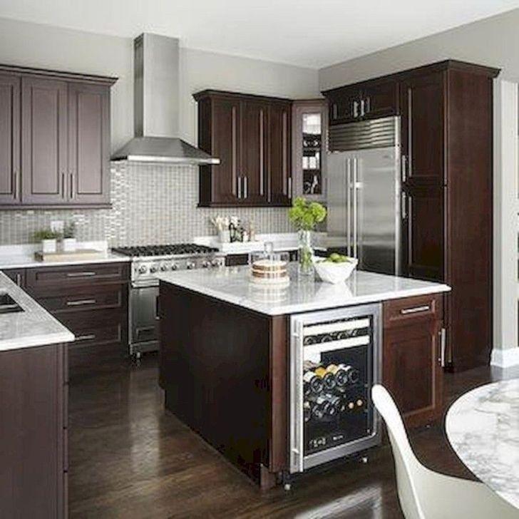 Amazing kitchen color scheme ideas for dark 02