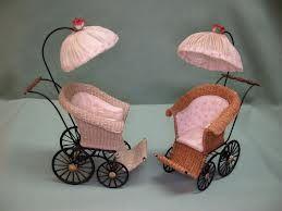 wicker stroller