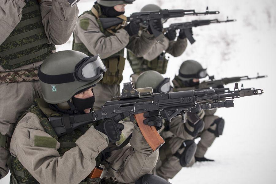 Russian Army Special Purpose Unit. Military hobby blog: http://zimhangmen.tumblr.com/