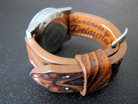 Delaurian.com ultimate hand crafted watchbands.