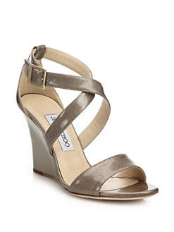 a04c3acc0ac63 ... coupon for jimmy choo fearne glitter patent leather wedge sandals 4648e  30d7d
