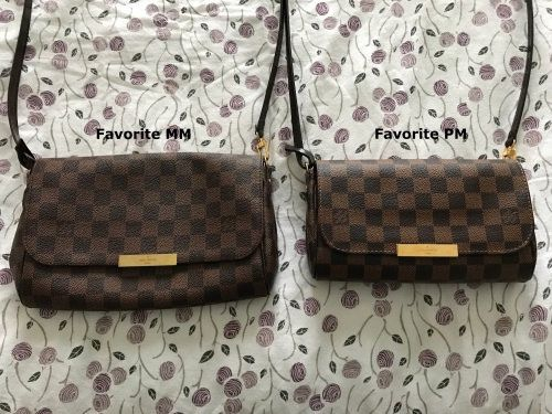 e7bd96ff6bb5 LV MM and PM Lv Favorite Mm