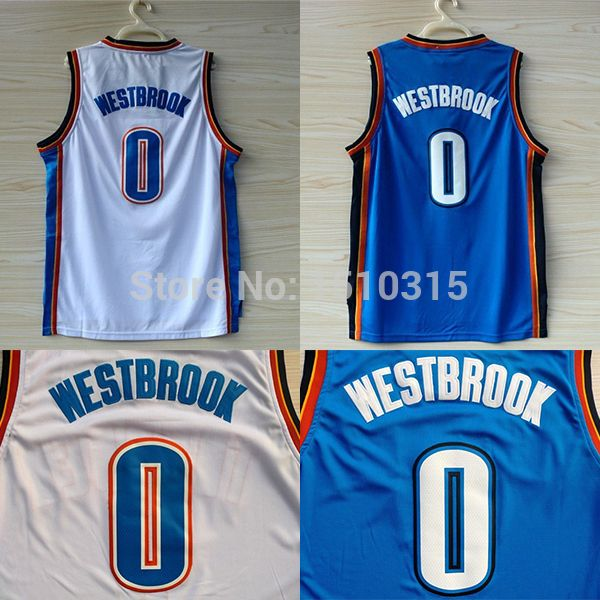newest 68ddb 958eb Aliexpress.com : Buy Oklahoma 0 Russell Westbrook Basketball ...