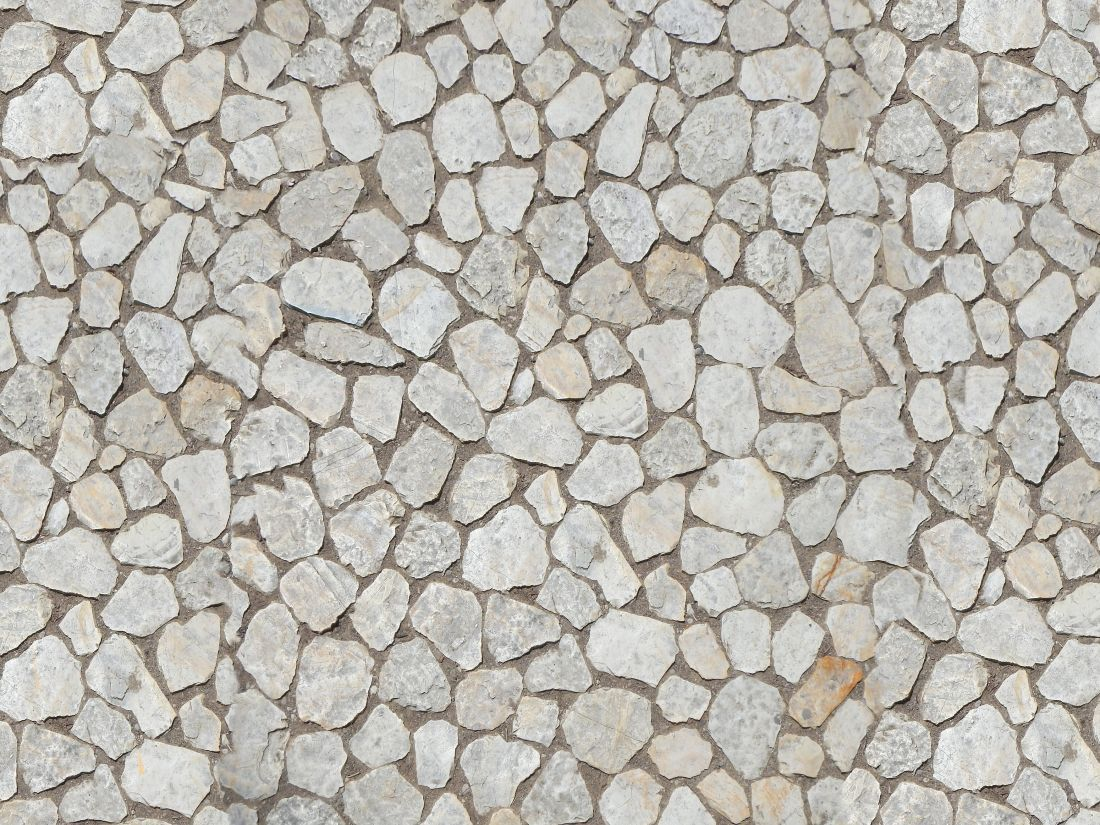 Irregular Stone Floor Great Texture Site Materials