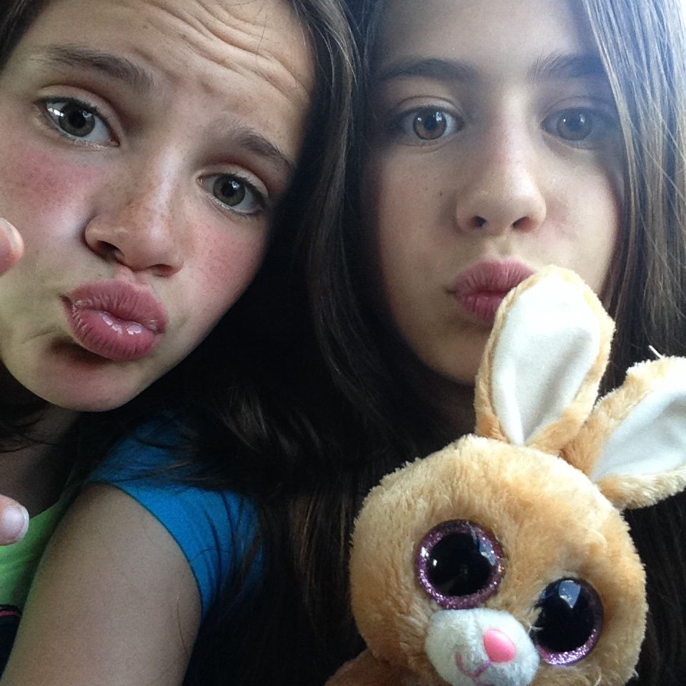 Me, Katie, And My Bunny