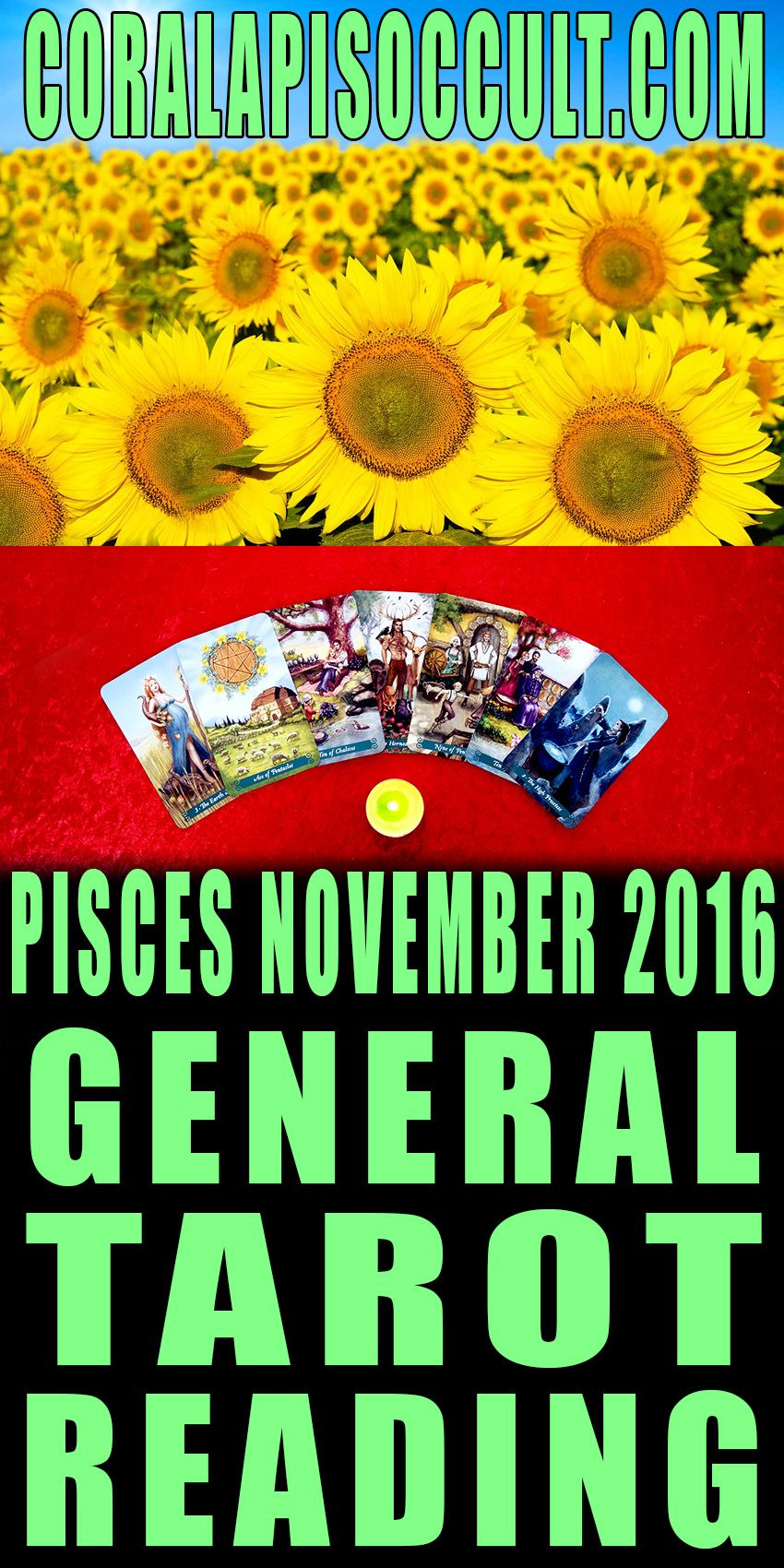 Pisces november 2016 tarotscope tarot reading for