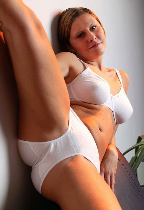 Panties White cotton