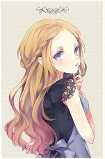 image manga fille blonde 33 MANGA Coiffures manga