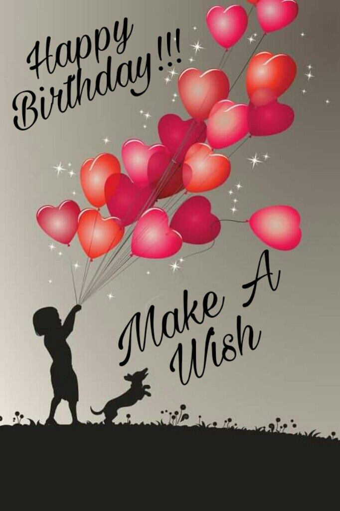 Happy Birthday Make A Wish – Make Birthday Greeting