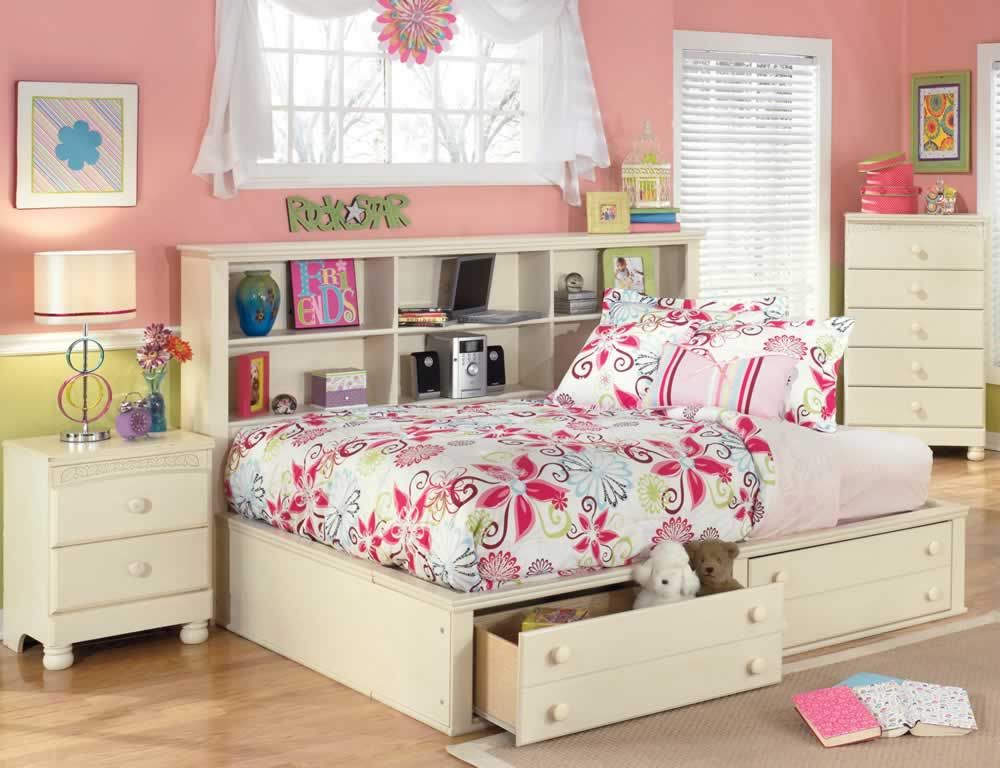 Cottage Retreat Youth Bookcase Daybed With Storage