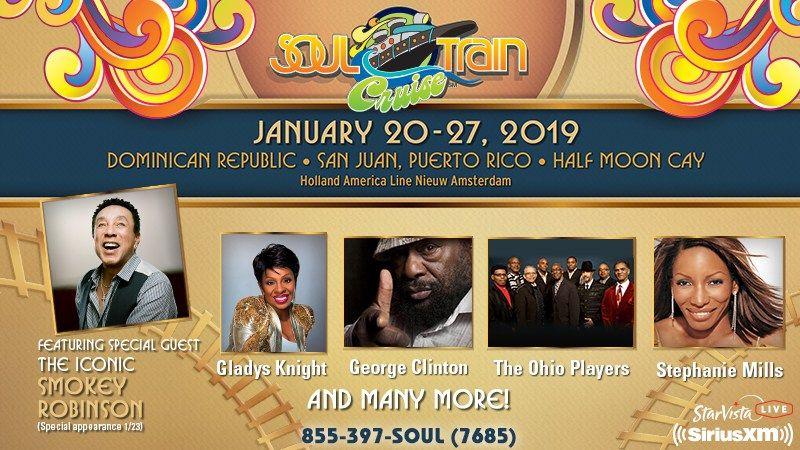 Enter SiriusXM Soul Train Cruise Sweepstakes 2018 from